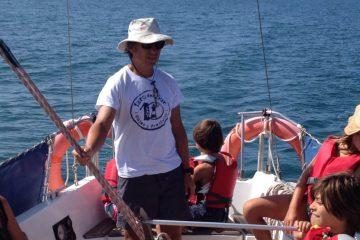 Velero en la islas del Algarve