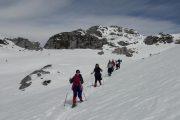 Semana santa en Asturias, excursión con raquetas en Picos de Europa